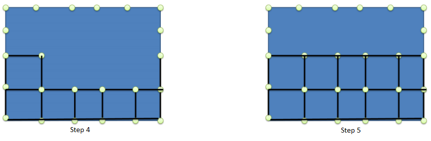Mesh Paving method